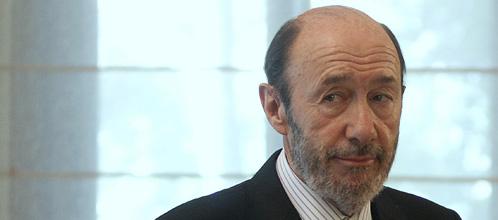 El vicepresidente primero y ministro del Interior, Alfredo Pérez Rubalcaba (Reuters)