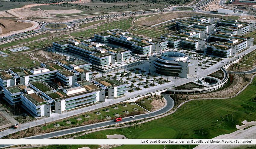 Las ciudades empresariales lujo para los empleados o - Ciudad pegaso madrid ...