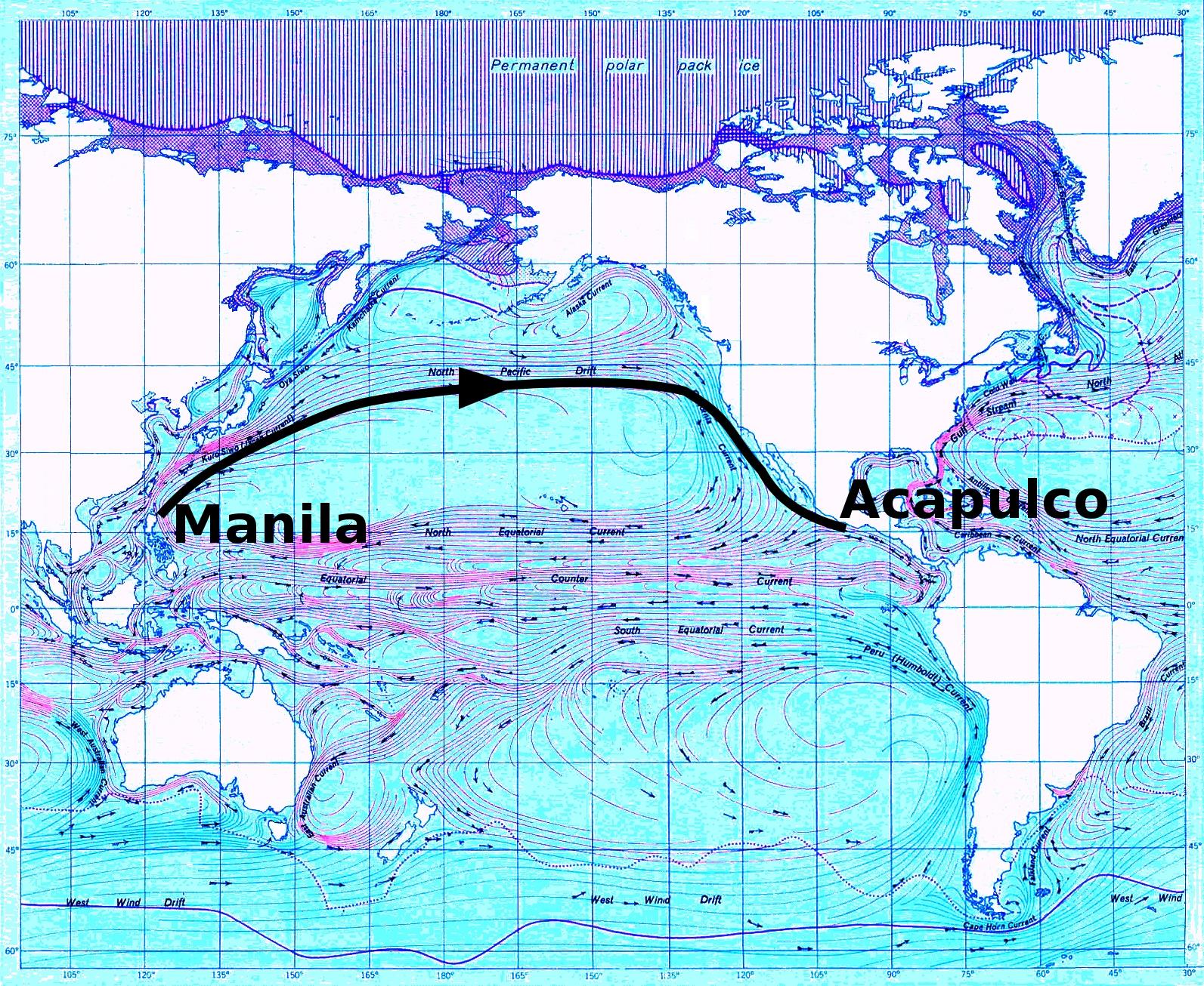 El Galen de Manila la ruta que no pudieron controlar los
