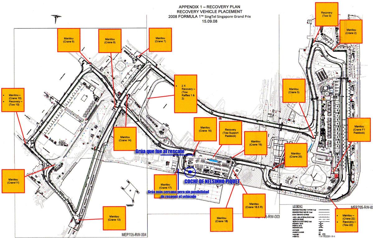 Circuito Singapur : Renault: por qué renault eligió la curva 17 en singapur