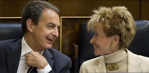 Zapatero y De la Vega