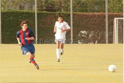 Messi en césped artificial