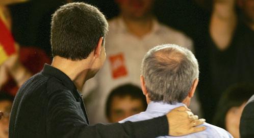 Zapatero y Montilla (Reuters)