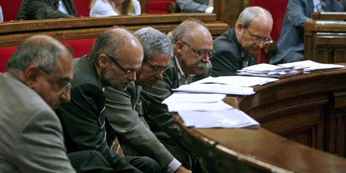 El Parlament durante el debate de prohibición de las corridas de toros (Efe)