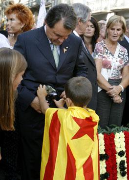 Artur Mas siempre ha 'abrazado' el independentismo