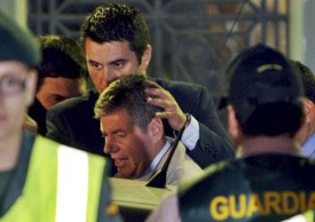 Detención del alcalde de Santa Coloma, Bartomeu Muñoz. Efe