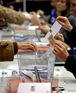 Consultas sobre la independencia de Cataluña (Efe).
