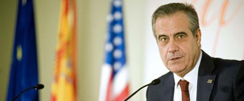 El ministro de Trabajo e Inmigración, Celestino Corbacho (Efe).