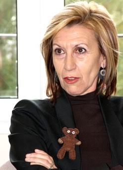 Rosa Díez podría ser una amenaza para el PP (G.B.)