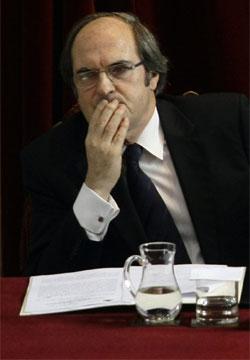 El ministro de Educación, Ángel Gabilondo (Reuters)