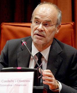 El 'conseller' de Economía, Antoni Castells (EFE).