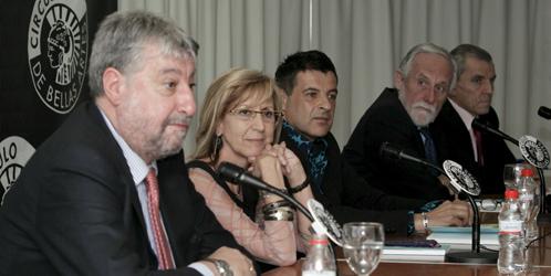 Rosa Díez y el ex secretario general de CCOO, José María Fidalgo (EFE).