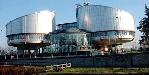 La sede del tribunal Europeo de Derechos Humanos en Estrasburgo (Archivo)