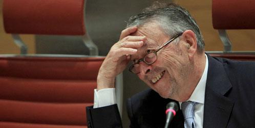 El presidente de la corporación RTVE, Alberto Oliart (EFE).