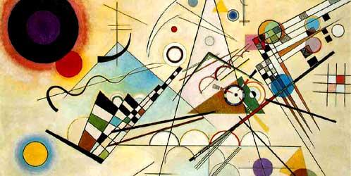 •Composición 8, de Kandinsky.