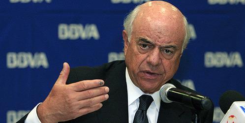 El presidente del BBVA, Francisco González (EFE).