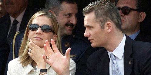 Foto de archivo de la infanta Cristina y su esposo Iñaki Urdangarín (Reuters).