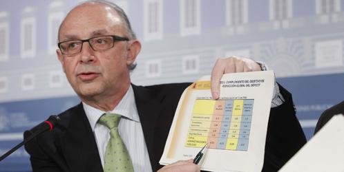 El ministro de Hacienda y Administraciones Públicas, Cristóbal Montoro (Efe).