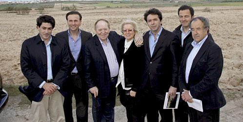 Sheldon Adelson, en su visita sorpresa en Madrid. (Efe)