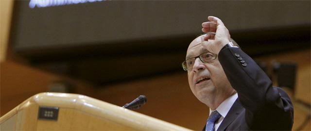 El ministro de Hacienda, Cristóbal Montoro (Efe).