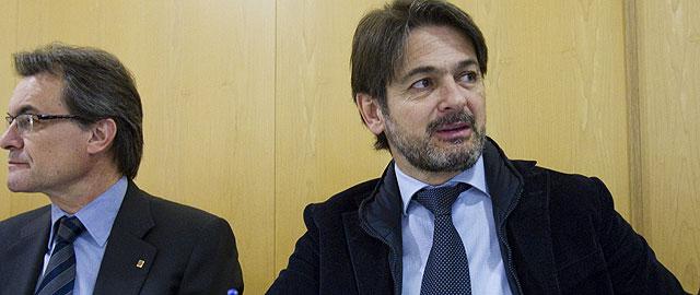 Artur Mas y Oriol Pujol (Efe)