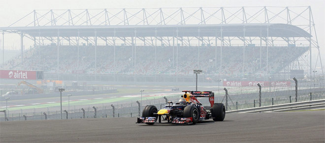 Red Bull tiene dominado a Alonso en la India