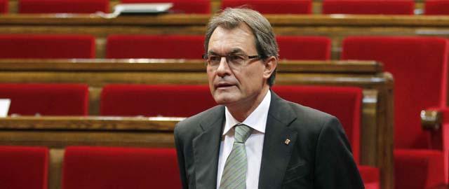 Artur Mas, presidente de la Generalitat (Efe).