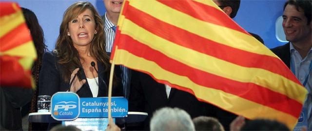 La presidenta del PPC, Alicia Sánchez-Camacho (Efe).