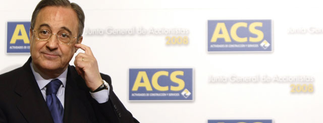 Florentino P�rez hace un roto a ACS para financiar las 'stock options' de directivos