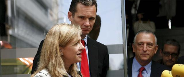 Los Duques de Palma, la Infanta Cristina y su esposo, lñaki Urdangarín (Efe)