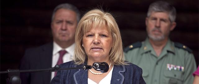 La presidenta de la AVT denuncia que lleva cinco meses sin hablar con Fernández Díaz