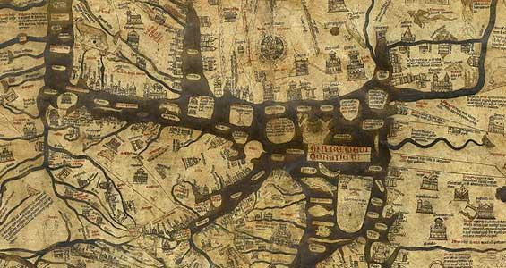 El mapamundi medieval ms antiguo del mundo en 3D gracias a un