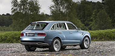 Rompedor Bentley SUV