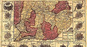 Las veguerías fueron la división territorial de las tierras catalanas desde el siglo XII al XVIII