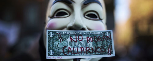 Anonymous lanza el mayor ataque de la historia contra EE UU y la industria musical